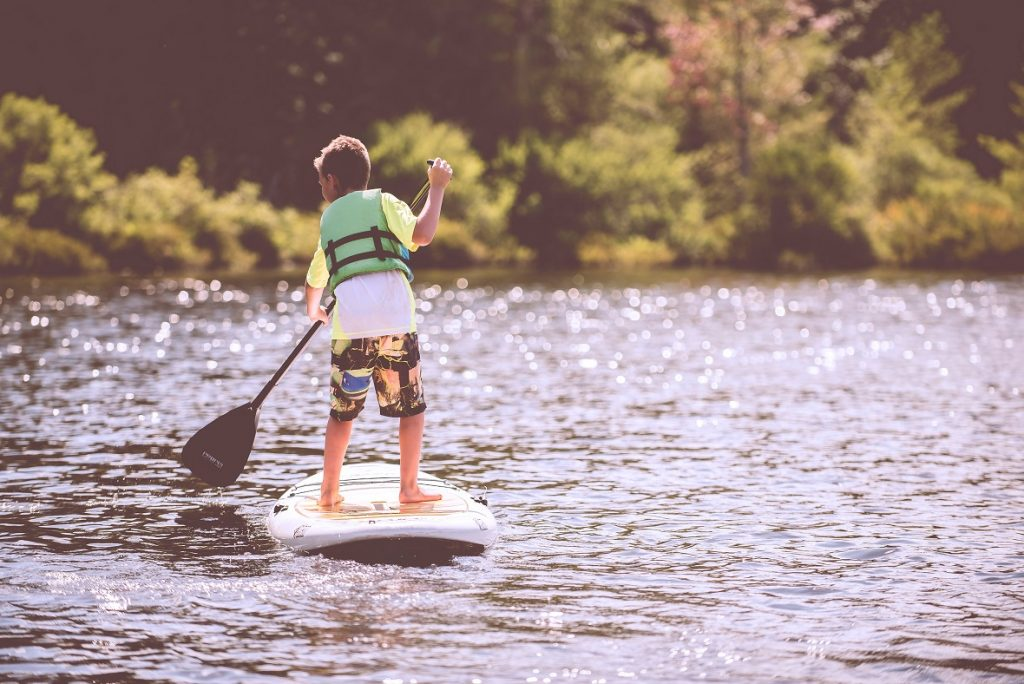 sup o stand up paddle per bambini