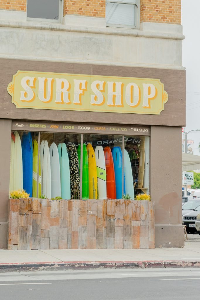 surf shop per noleggiare surf e sup