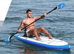 seggiolino da kayak per sup gonfiabile